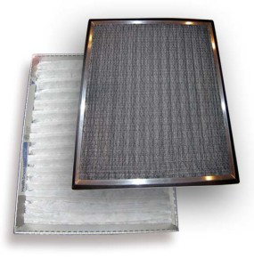 custom AC filters with aluminum frame